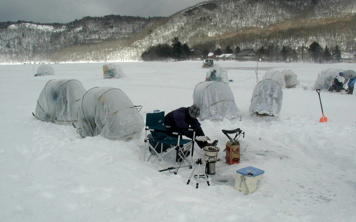 Ice fishing onuma