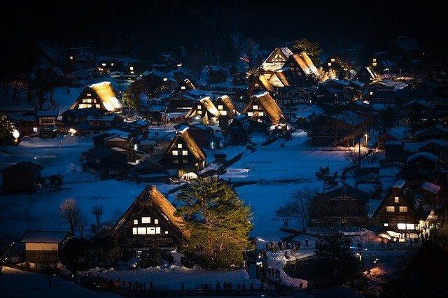 Shirakawago night