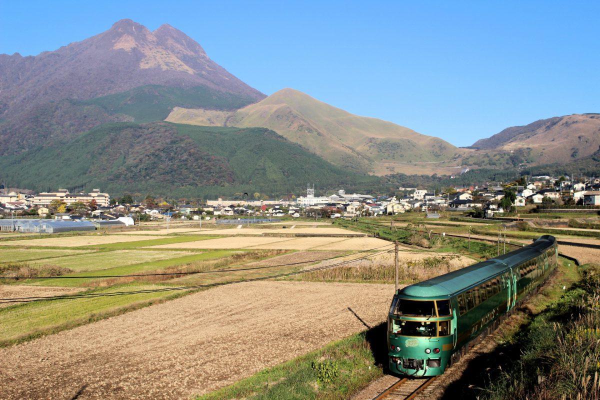 Yufuin no mori train
