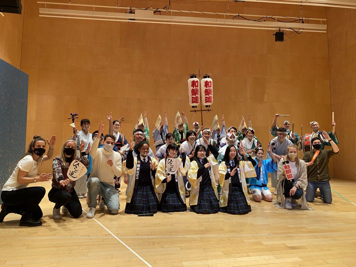 Awa Odori Koenji workshop