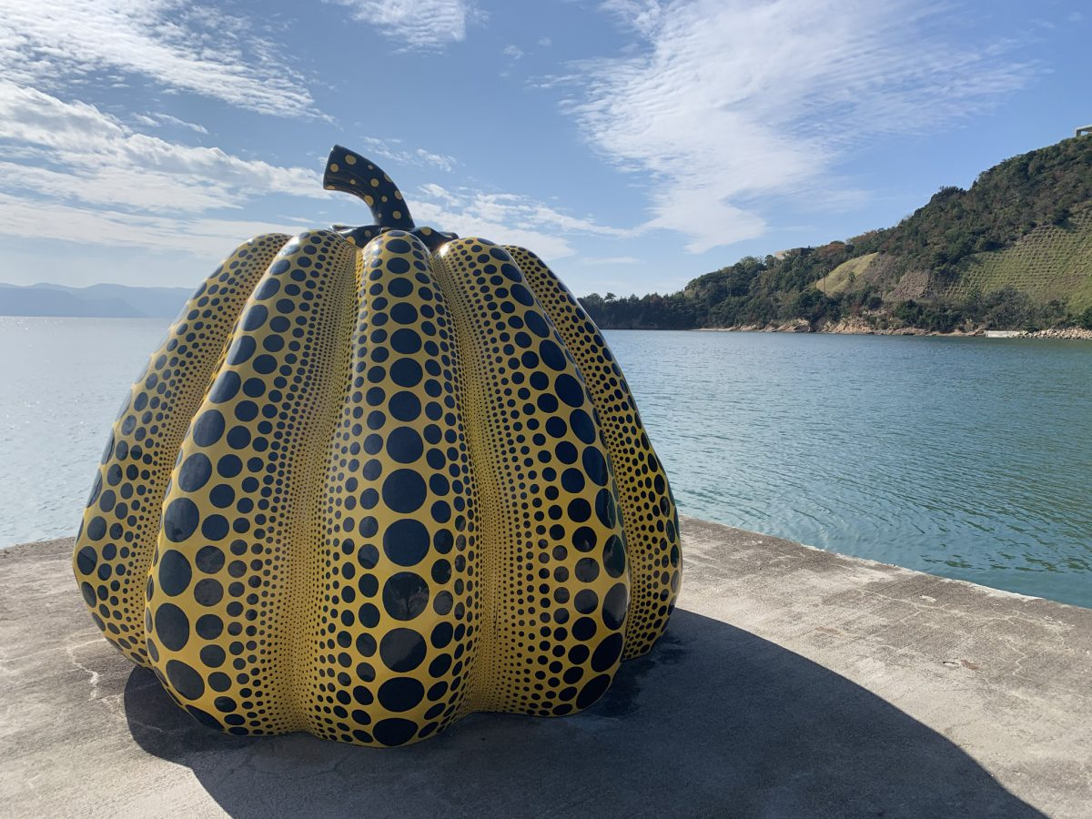 Yellow Pumpkin Naoshima