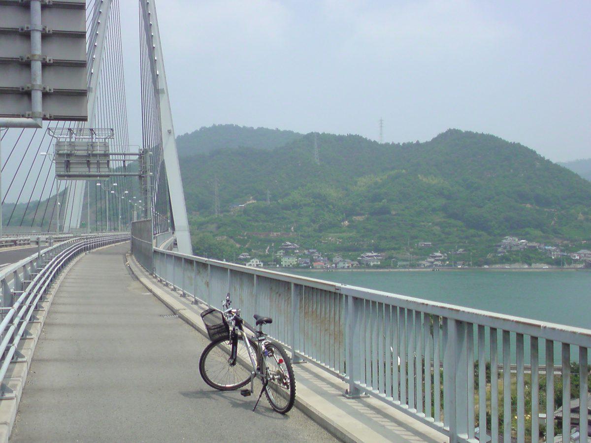 Shimanami Kaido trail bicycle