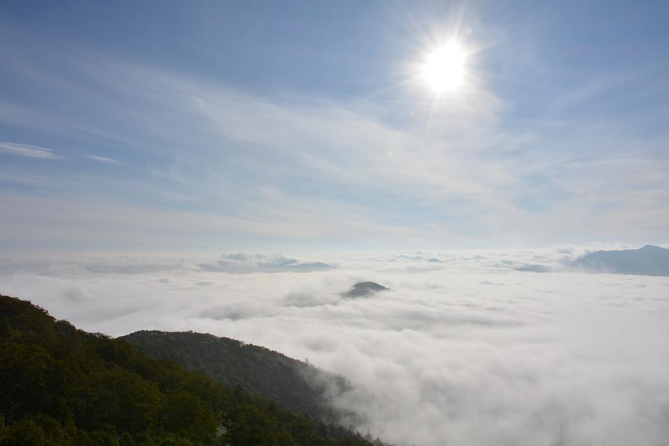 Sea of clouds Hokkaido