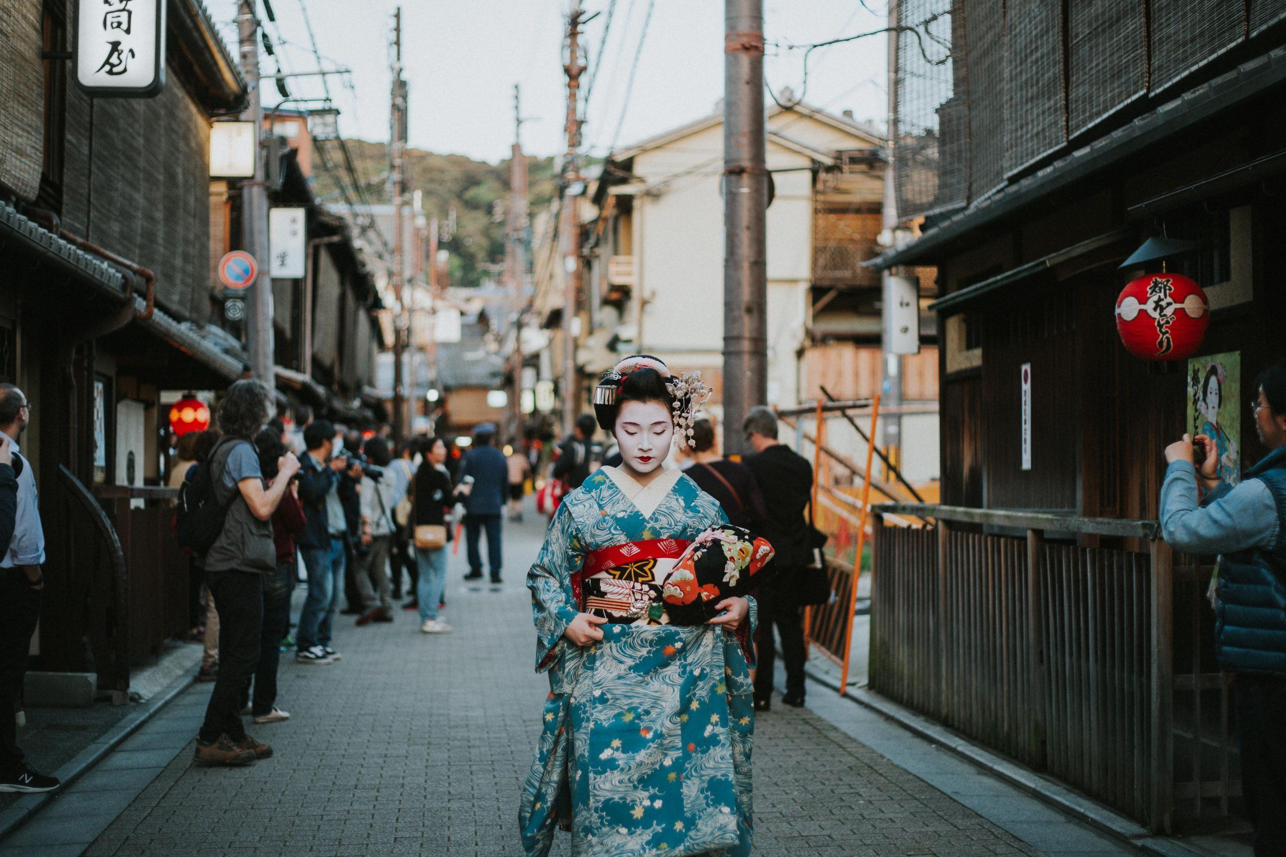 Maiko Geisha Kyoto