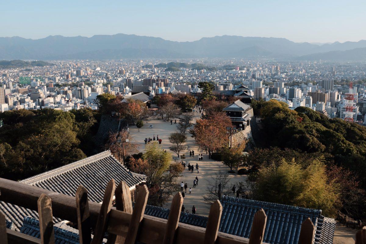 Matsuyama Castle view