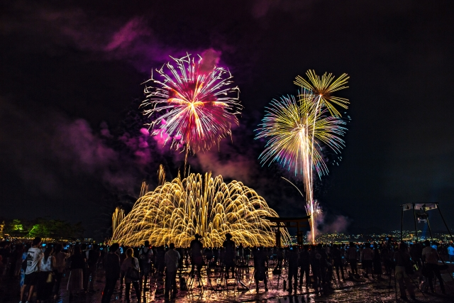 Miyajima fireworks