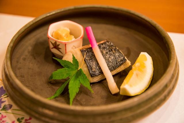 grilled fish kaiseki