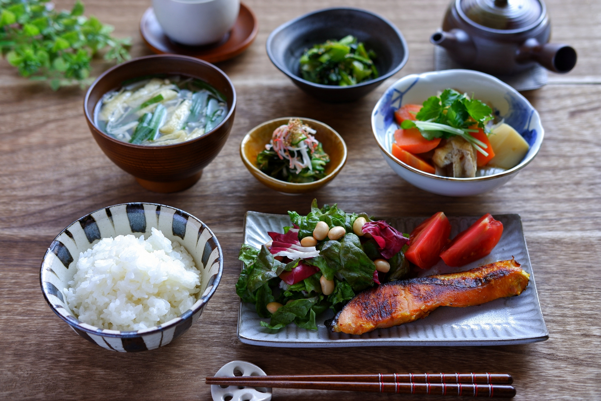 typical japanese meals at home