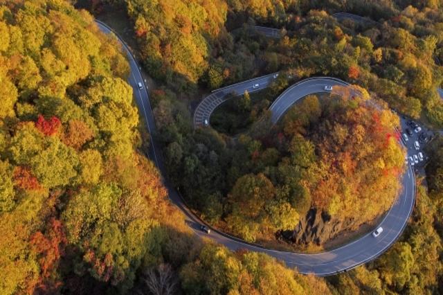 Winding road Nikko