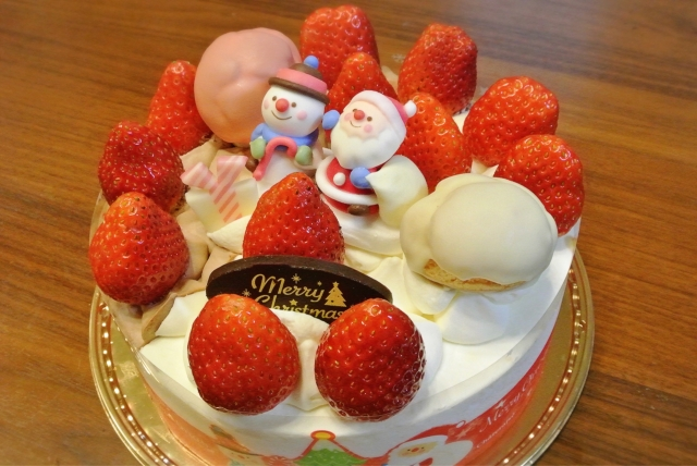 christmas cake japan