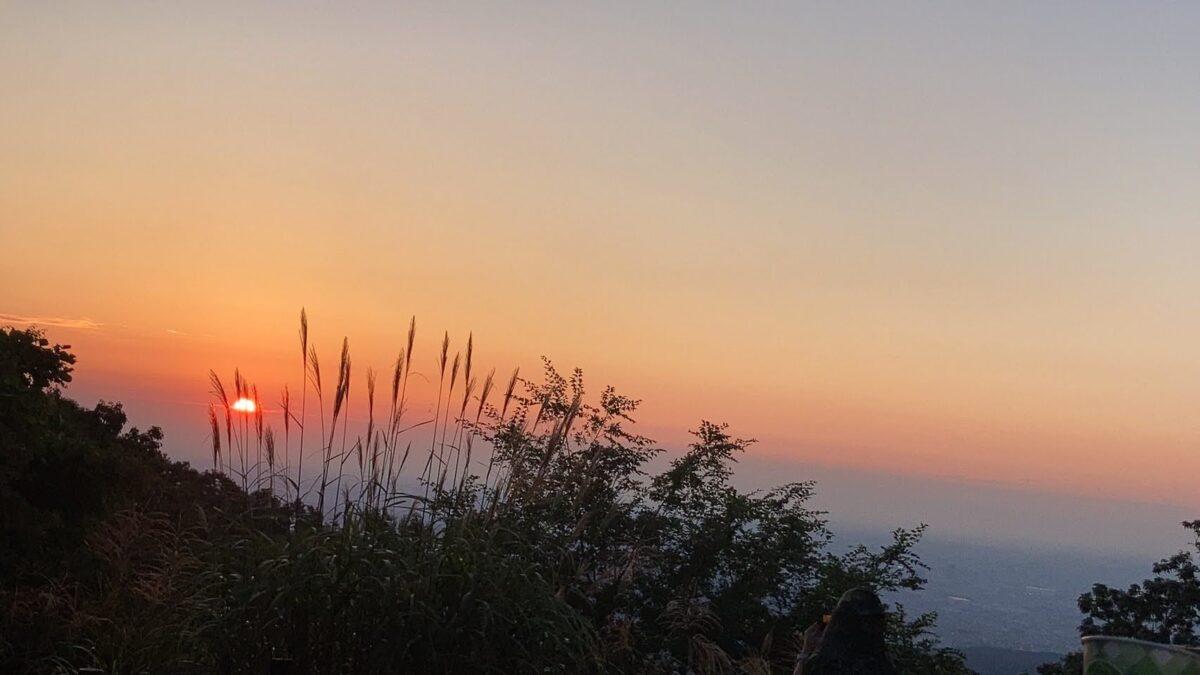 Mt. Takao first sunrise